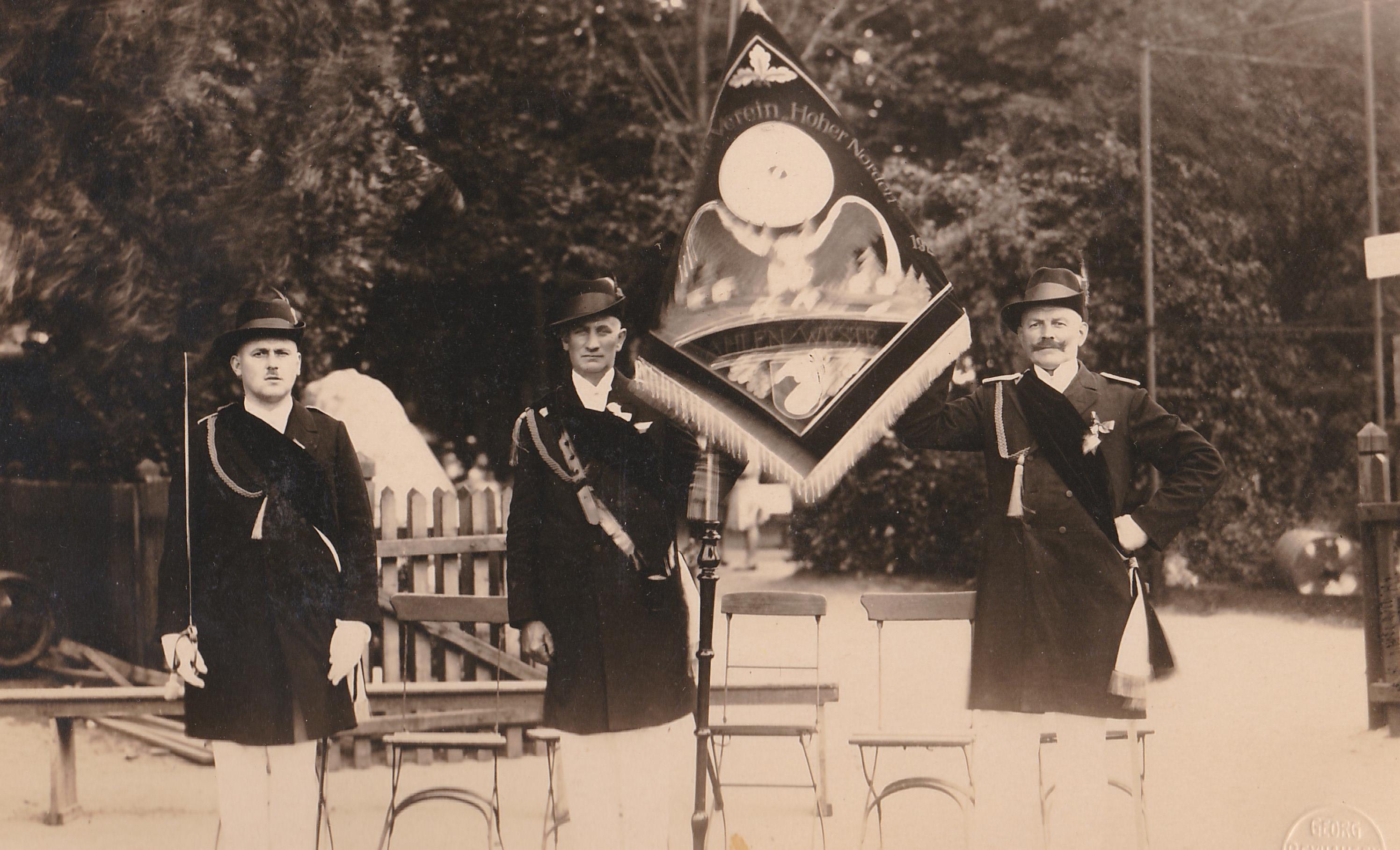 """Hoher Norden: Die """"neue"""" Fahne aus 1930"""